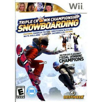 Destineer Triple Crown Snowboarding (Nintendo Wii)