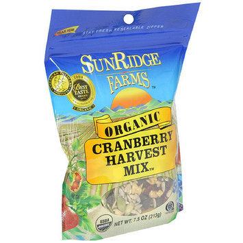Sunridge Farms Organic Cranberry Harvest Trail Mix, 7.5 oz (Pack of 12)