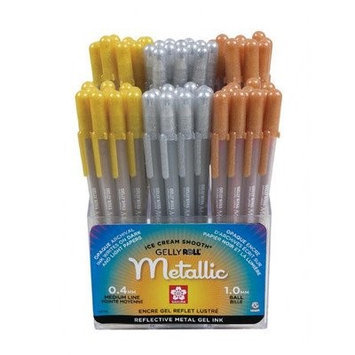 Sakura Of America Gelly Roll Metallic Pen Display (Set of 72)