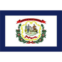 Annin West Virginia State Flag - 4' x 6'