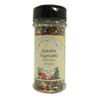 Lizzie's Kitchen Garden Vegetable Seasoning, 2.30-Ounce Plastic Jars (Pack of 4)