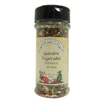Lizzie's Kitchen Garden Vegetable Seasoning, 2.30-Ounce Plastic Jars (Pack of 4)