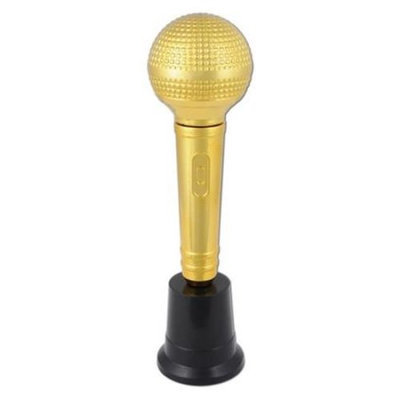 Beistle 57380 Microphone Award - Pack of 6