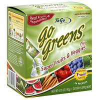 Healthy To Go! Go Greens Dietary Supplement