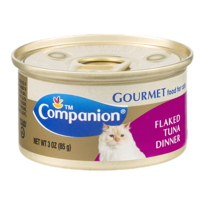 Companion Gourmet Food for Cats Flaked Tuna Dinner 3 OZ