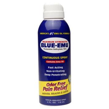 Blue-Emu Pain Relief Continuous Spray, 4 fl oz