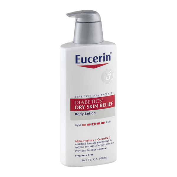 Eucerin Diabetics' Dry Skin Relief Body Lotion