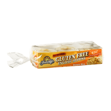 Food For Life Gluten Free English Muffins Brown Rice - 6 CT
