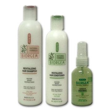 Dr Ross' BIOGEM pH-Balanced Revitalizing Starter Set For Oily Hair - Shampoo 8oz / Conditioner 6oz / Treatment 2oz