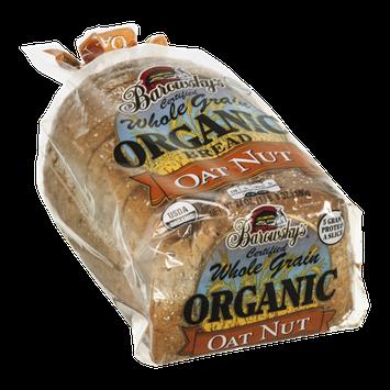 Barowsky's Organic Bread Whole Grain Oat Nut