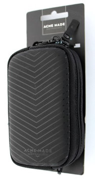 Acme Made CMZ Compact Camera Pouch, Matte Black Chevron
