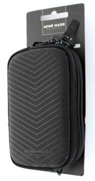 Acme Made CMZ Compact Camera Pouch, Matte Black Chevron