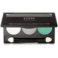 NYX Trio Eye Shadow,TS16, Opal/Platinum Silver/Luster,4.6 g