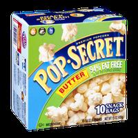 Pop-Secret Popcorn Butter 94% Fat Free Microwave Snack Bags - 10 CT