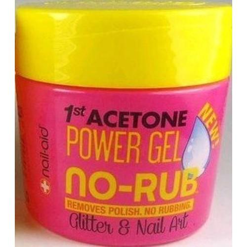 Nail-Aid 1st Acetone Power Gel No-Rub Nail Polish Remover