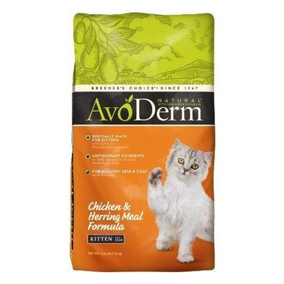 Avoderm Naturals AvoDerm Natural Chicken & Herring Meal Formula Kitten Food, 3.5-Pound