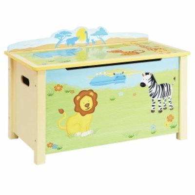 Guidecraft Savanna Smiles Toy Box, Multi, 1 ea