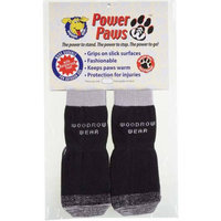 Woodrow Wear Power Paws Reinforced Foot Extra Extra Large Black/Gray