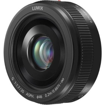 Panasonic Lumix G Vario 20mm f/1.7 II ASPH Lens for G Series Cameras (Black)