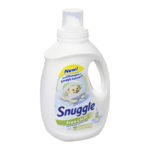 Snuggle Free Clear Fabric Softener