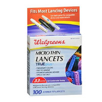 Walgreens Microthin Lancets