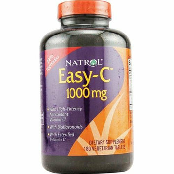 Natrol Easy-C with Bioflavonoids 1000 mg 180 Vegetarian Tablets