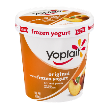 Yoplait® Original Harvest Peach Low Fat Frozen Yogurt