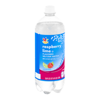 Ahold Flavored Seltzer Water Raspberry Lime