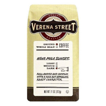 Verena Street 11 oz. Nine Mile Sunset Dark Ground Coffee Case Of 6