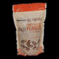 Woodstock All Natural Honey Roasted Peanuts