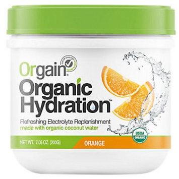 Orgain Organic Hydration Powder Orange 7.05 oz - Vegan