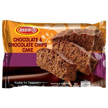 Osem Chocolate Cake with Chocolate Chips (Kosher for Passover), 8.8-Ounce Packages (Pack of 9)