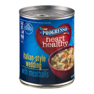 Progresso Heart Healthy Soup Italian-Style Wedding With Meatballs