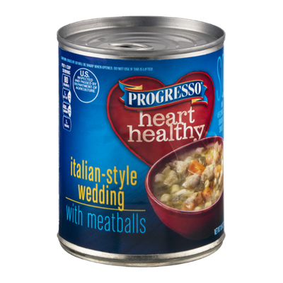 Progresso Heart Healthy Soup Italian-Style Wedding With Meatballs