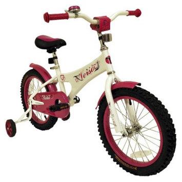 Kettler Girl's Verso Starlet Bike - Cream/ Pink (16