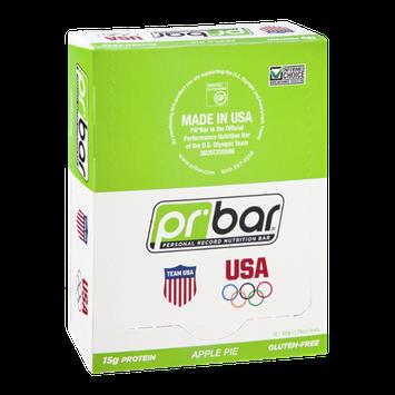 PR Bar Personal Record Nutritional Bar Apple Pie - Gluten Free - 12 Bars