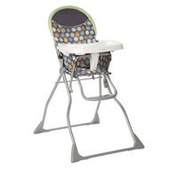 Slim Fold High Chair - Ikat Dots by Cosco
