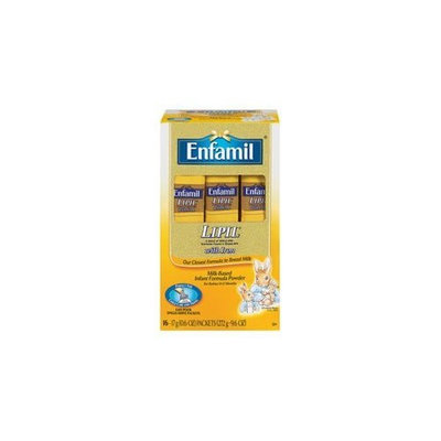 Enfamil Lipil with Iron Powder Sticks - 16 count - case of 6