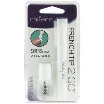 Nailene French Tip Pen, Pearl White 61022
