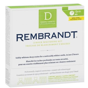 Rembrandt Deeply White 2 Hour Whitening Kit