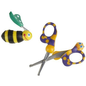 Sassy: Fun Shaped Soft Grip Scissors & Clippers