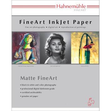 Hahnemuhle Matte Photo Rag 188 g/mA 100 % Rag, Smooth, Bright White Inkjet Paper, 13x19