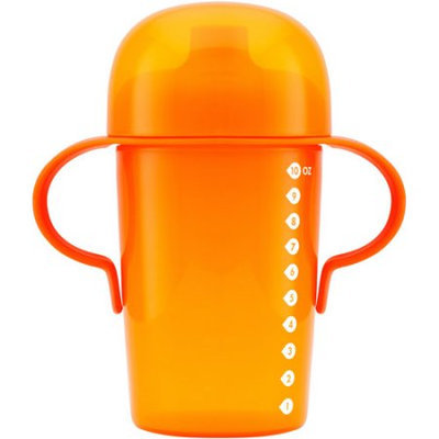 Boon Sip Tall Soft Spout 10 oz Sippy Cup Color: Orange