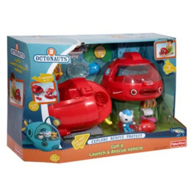 FISHER PRICE Fisher-Price Octonauts GUP-X Launch & Rescue Vehicle
