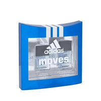 Adidas Moves By Adidas For Men. Set-edt Spray .75 Ounces & Aftershave .5 Ounces