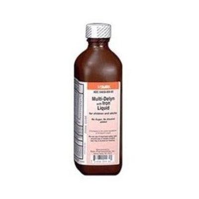 SILARX PHARMACEUTICALS Multi-Delyn Liquid W/Ir 8 Oz