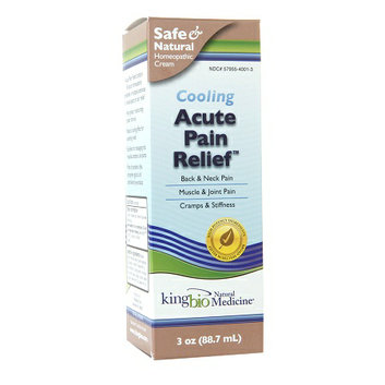 Natural Medicine by King Bio Acute Pain Relief (Topical Cream)