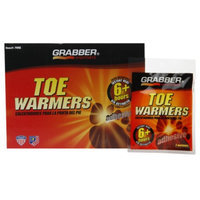 Grabber Warmers 6+ Hour Adhesive Toe Warmers (40 Pair Box)