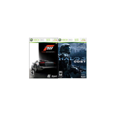 Microsoft Forza 3 and Halo 3: ODST