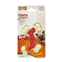 Nylabone Dura Chew Double Bone, Bacon Flavor